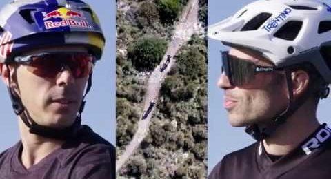 Marco Melandri & Marco Aurelio Fontana talking about Galfer Brakes