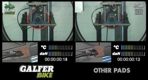 Brake pads comparative