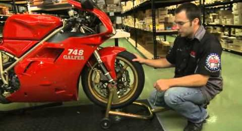 Sportbike brake pads installation
